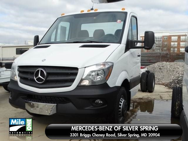 2015 Mercedes Benz Sprinter Reg Cab Silver Spring Md