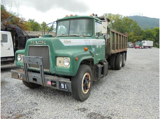 1979 Mack Tractor Truck : Mack dm roanoke va