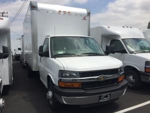 2016 CHEVROLET EXPRESS 3500 Box Truck - Straight Truck, Monrovia CA - 117997824 - CommercialTruckTrader.com