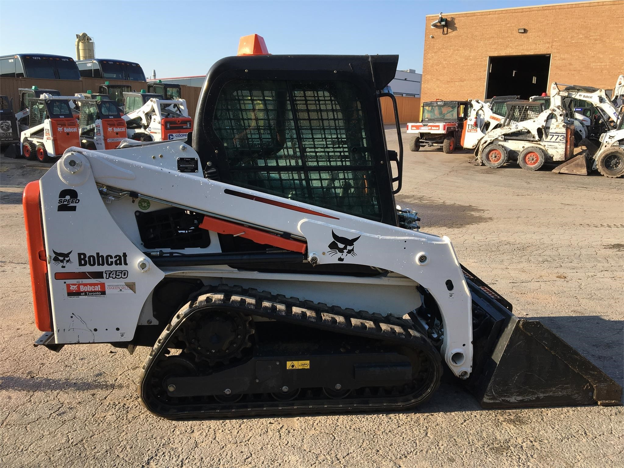 Rent this 2016 BOBCAT T450 in Brampton, ON
