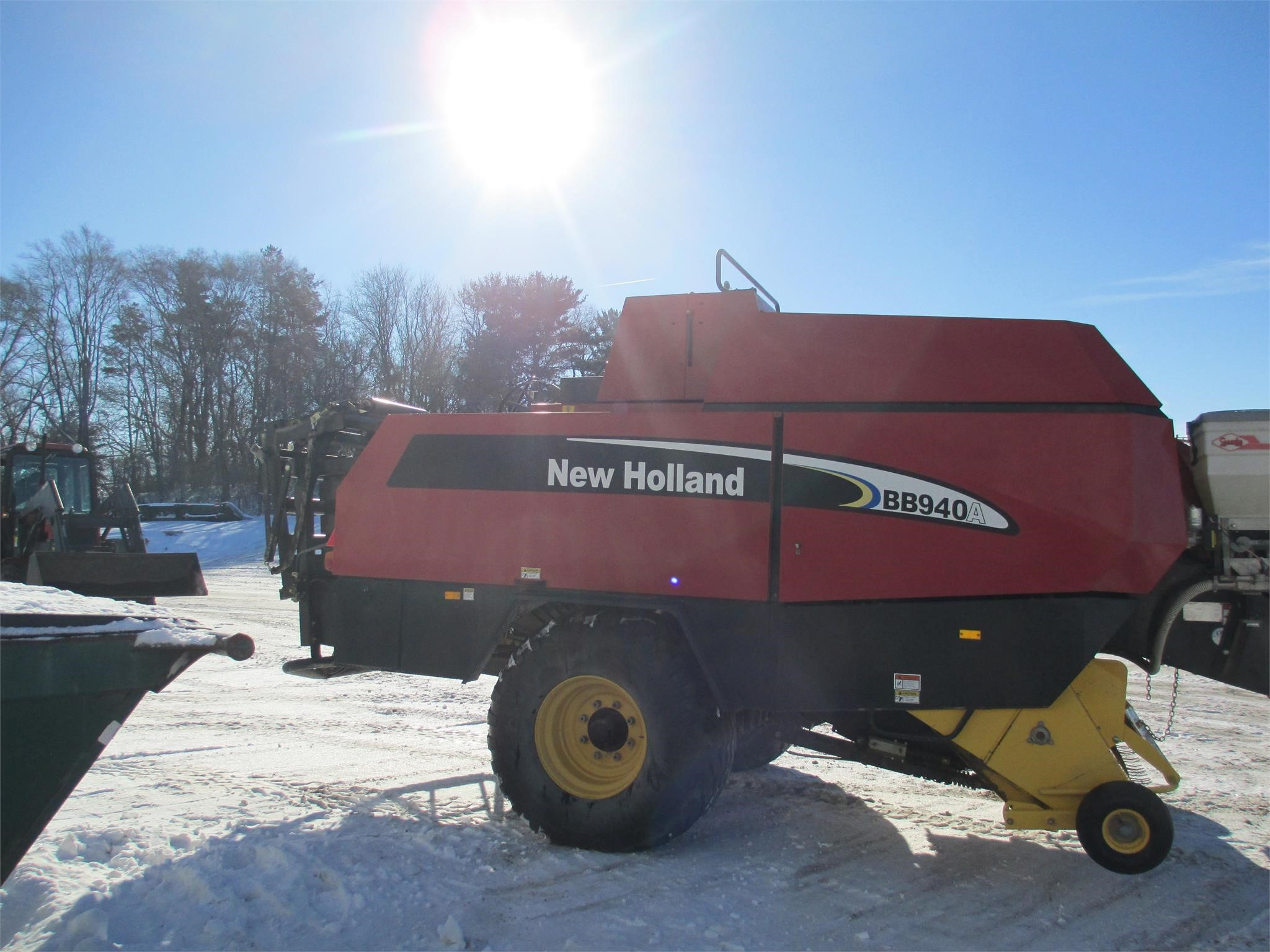 Used, 2003, NEW HOLLAND, BB940A, Hay and Forage Equipment - Square Balers - Large