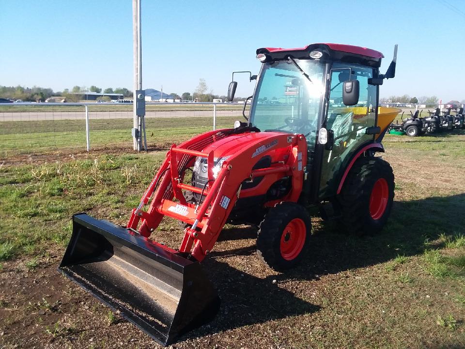 New, 2019, KIOTI, CK3510SEHCB, Tractor 4W