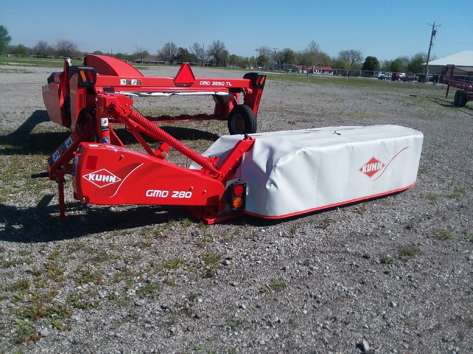 New, 2019, KUHN, GMD280 HD, Hay Mowers