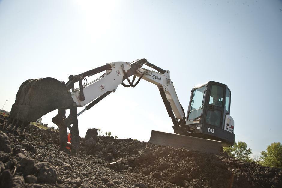 New, 2019, Bobcat, E42 Extendable Arm, Excavators