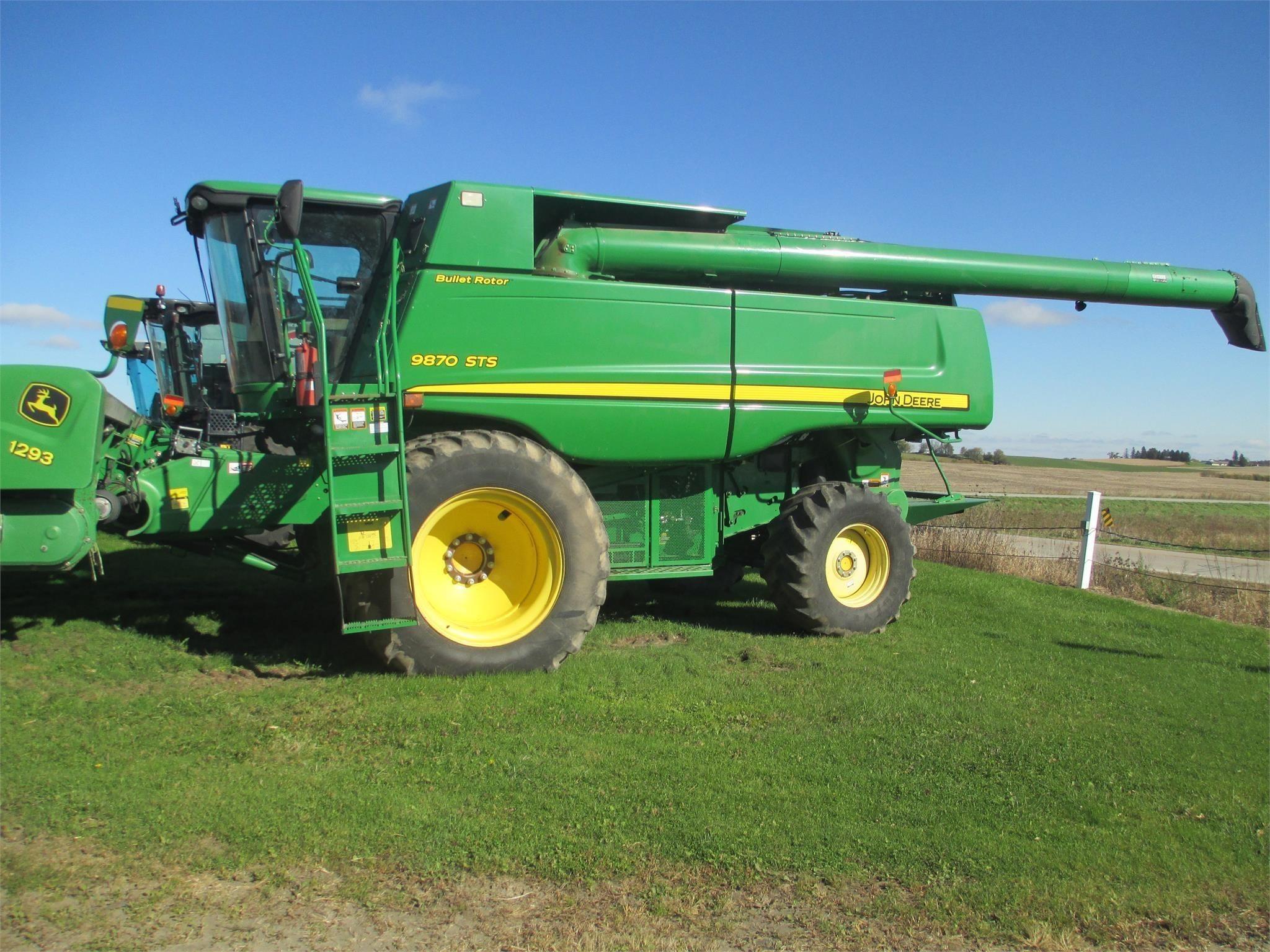 Used, 2009, JOHN DEERE, 9870 STS, Harvesters - Combines