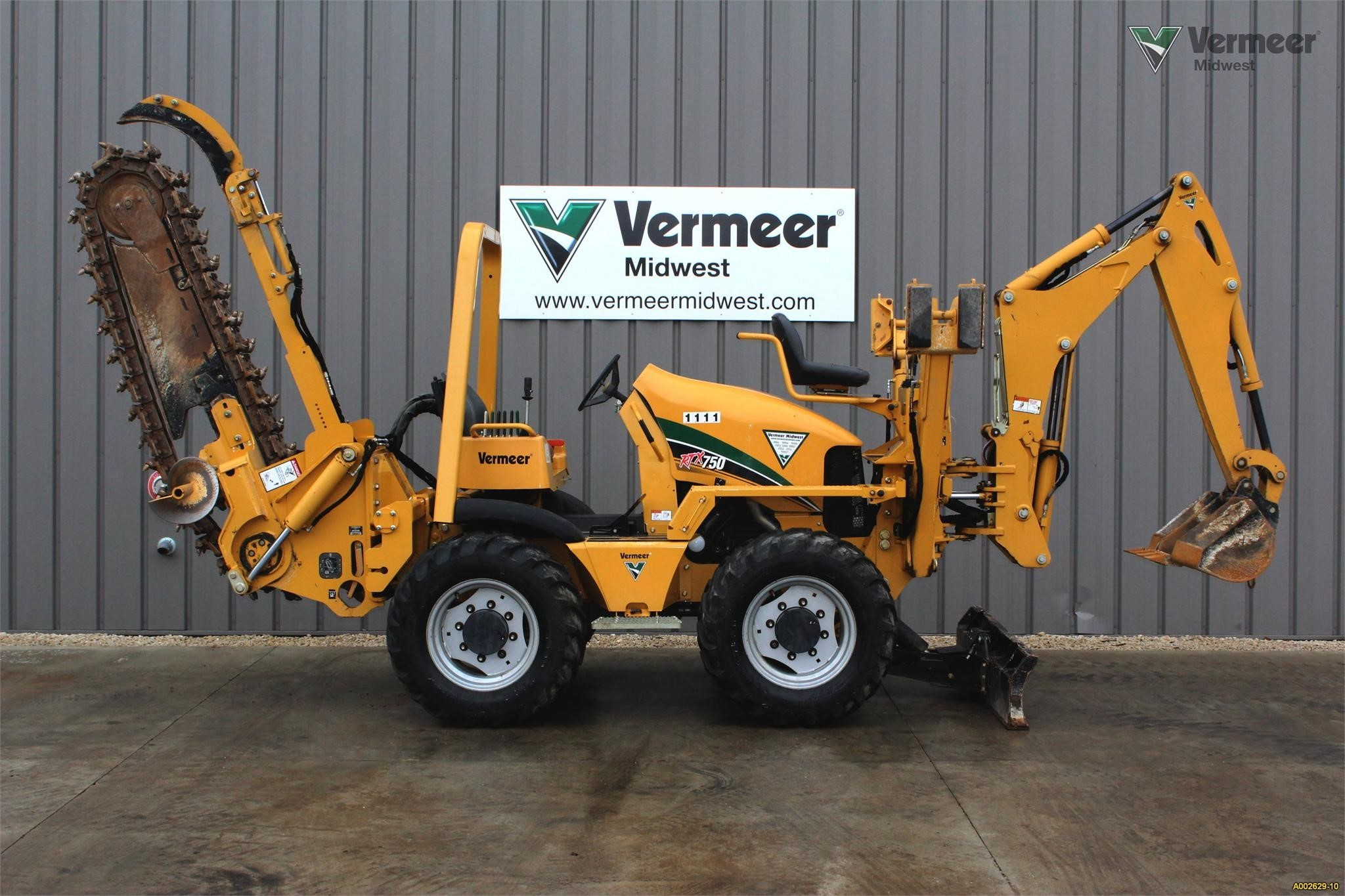 Used, 2012, VERMEER, RTX750, Trenchers