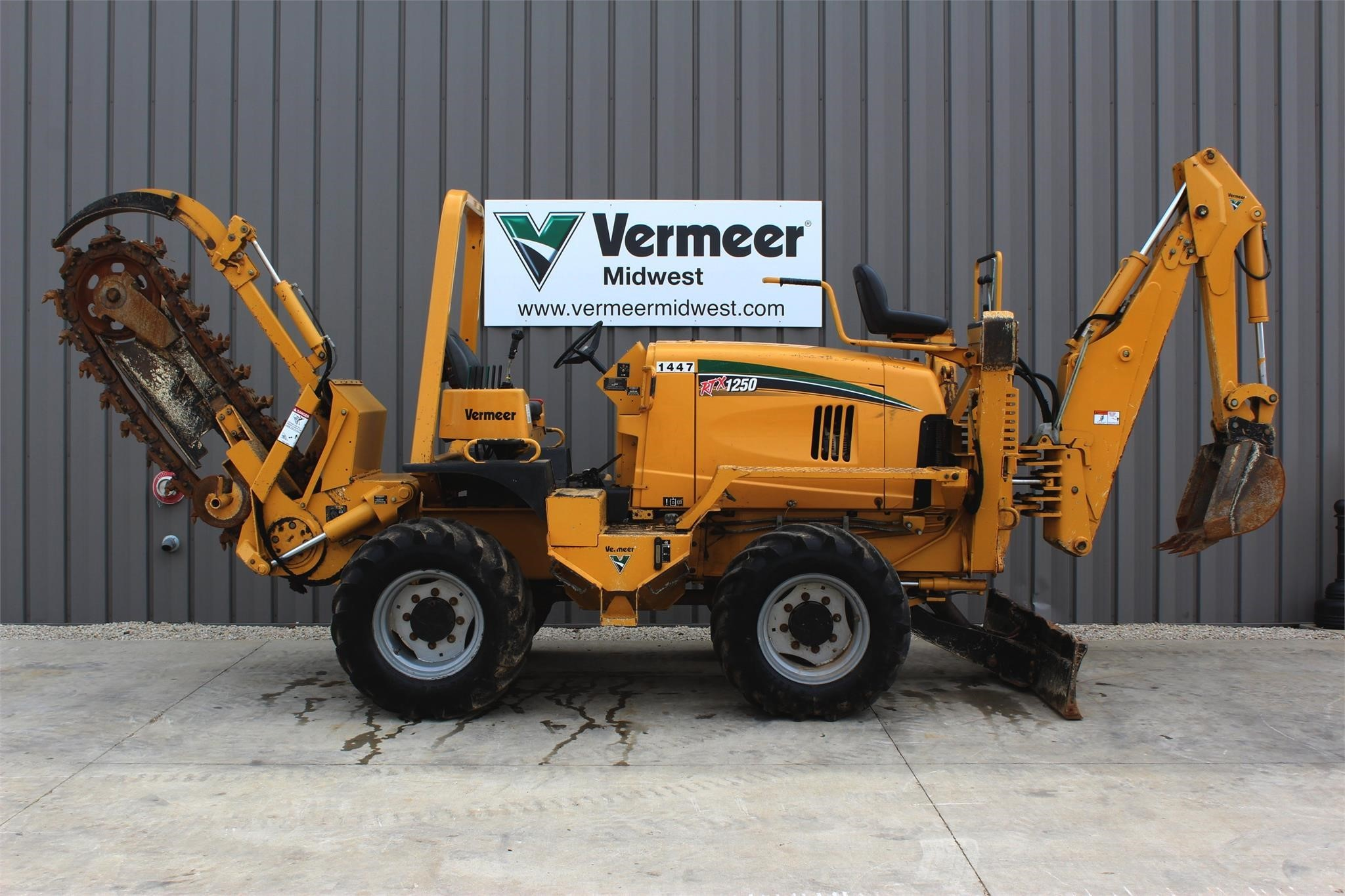 Used, 2013, VERMEER, RTX1250, Trenchers