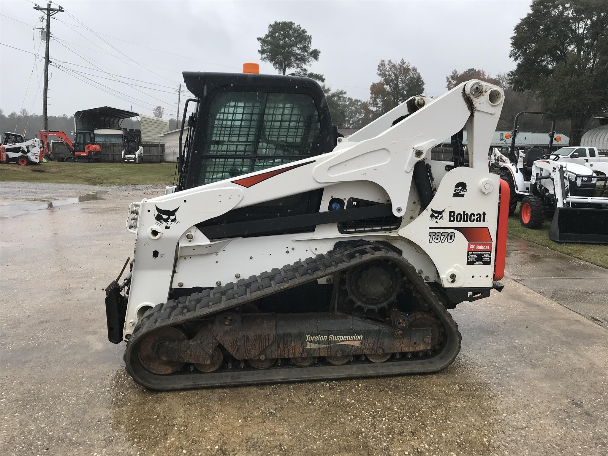 Used, 2018, BOBCAT, T870, Skid Steers - Track
