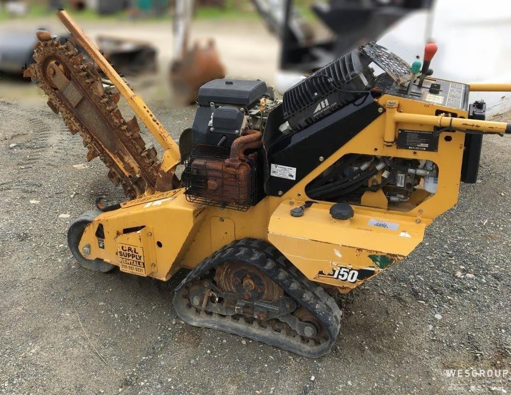 Used, 2011, VERMEER, RTX150, Trenchers / Boring Machines / Cable Plows