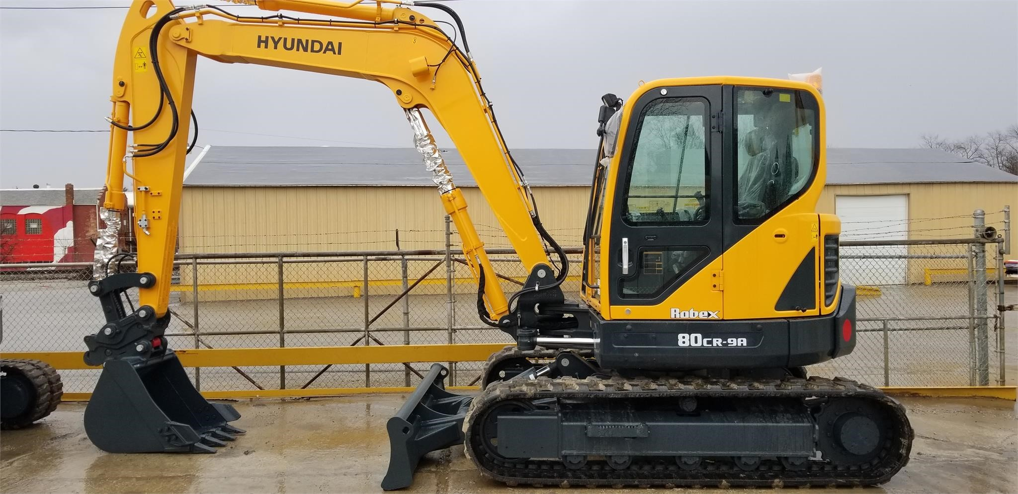 New, 2019, HYUNDAI, ROBEX 80CR-9A, Excavators - Crawler