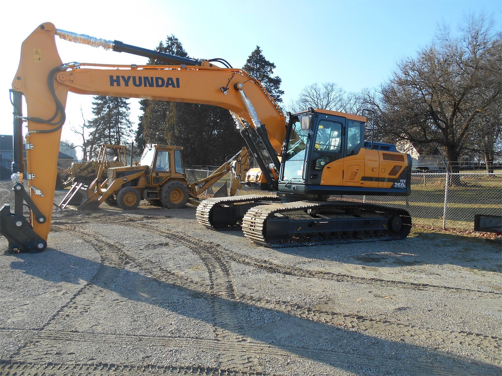 New, 2019, HYUNDAI, HX260L, Excavators - Crawler