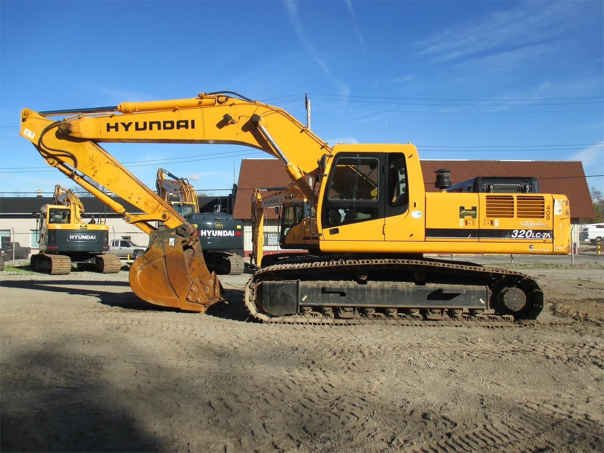Used, 2007, HYUNDAI, ROBEX 320 LC-7A, Excavators - Crawler