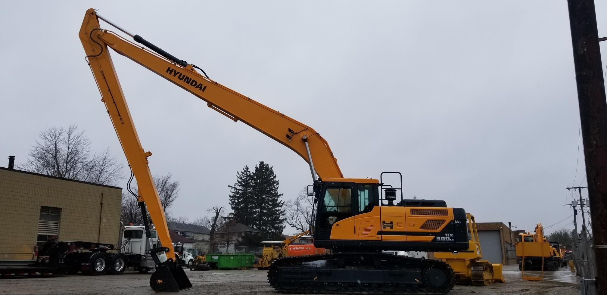 New, 2019, HYUNDAI, HX300 LR, Excavators - Crawler