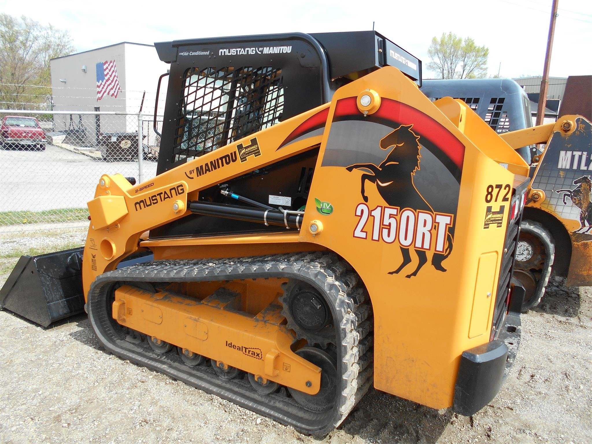 New, 2019, MUSTANG, 2150RT, Skid Steers - Track
