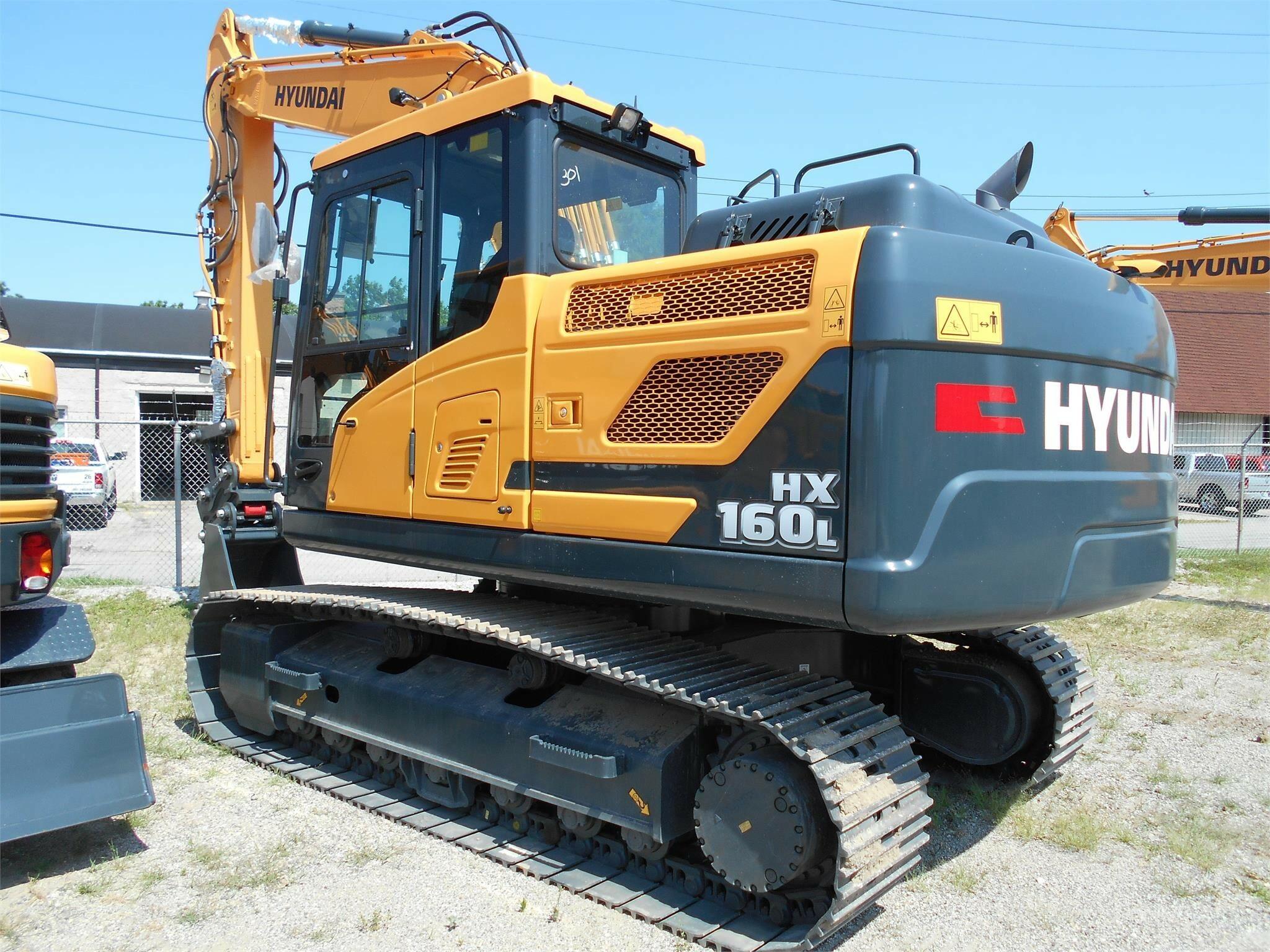 New, 2019, HYUNDAI, HX160L, Excavators - Crawler