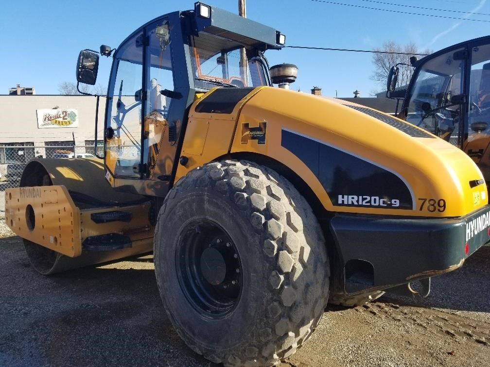 New, 2017, HYUNDAI, HR120C-9, Compactors - Smooth Drum