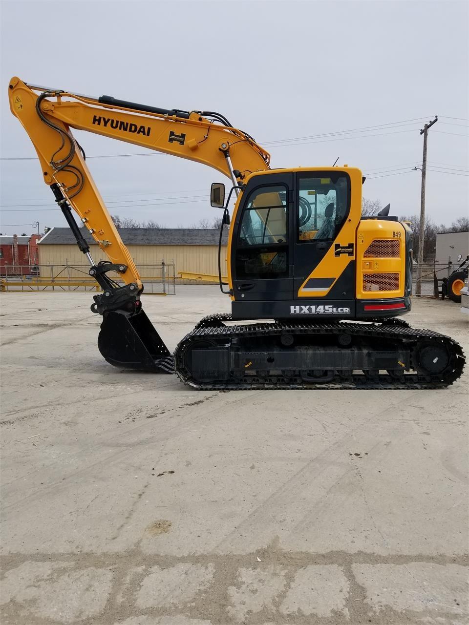 New, 2017, HYUNDAI, HX145 LCR, Excavators - Crawler