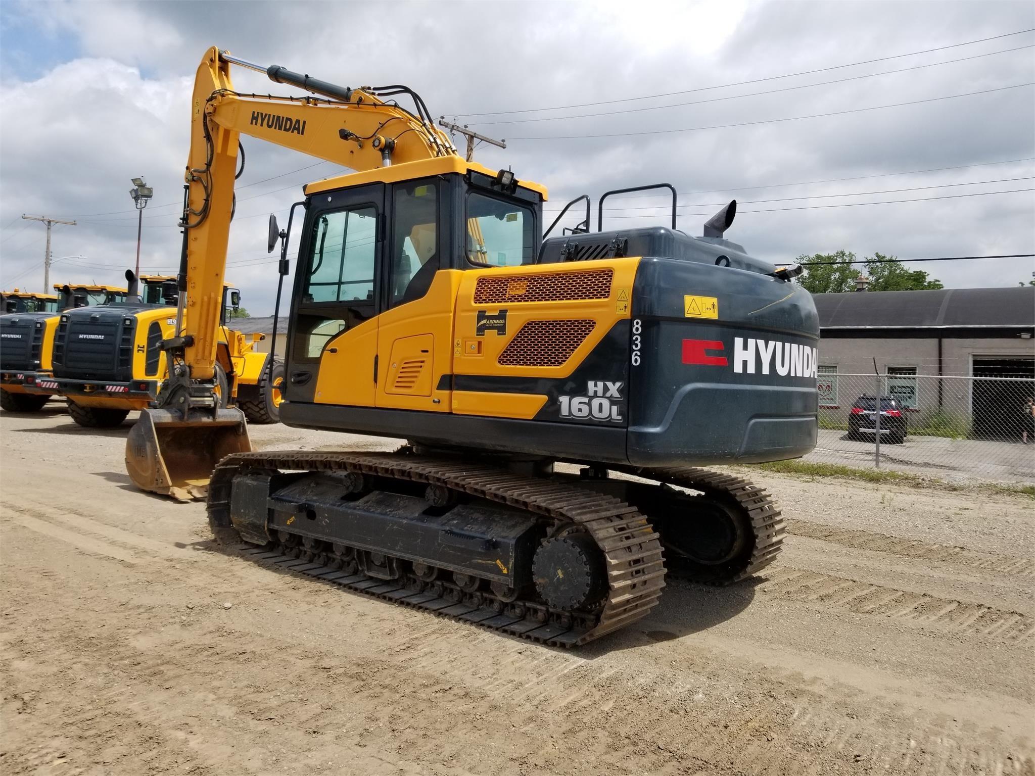 New, 2018, HYUNDAI, HX160L, Excavators - Crawler