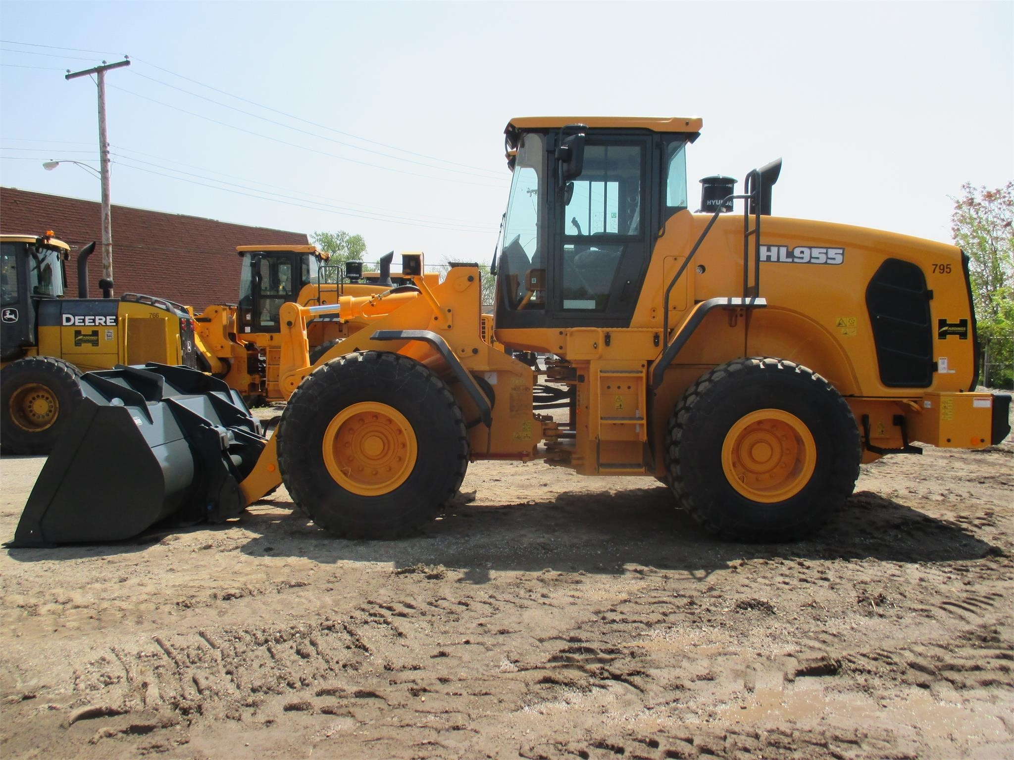 New, 2017, HYUNDAI, HL955, Wheel Loaders