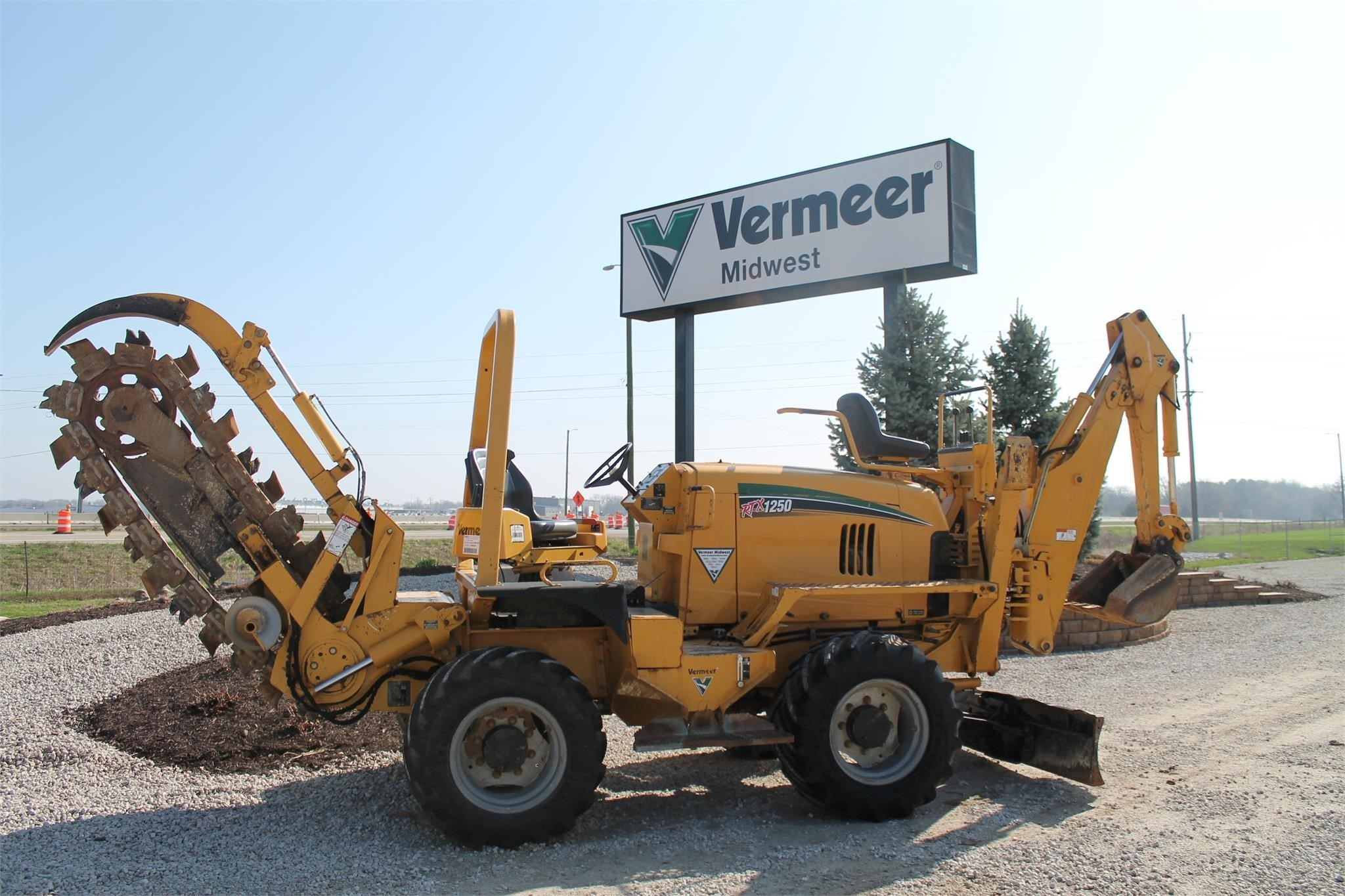 Used, 2014, VERMEER, RTX1250, Trenchers