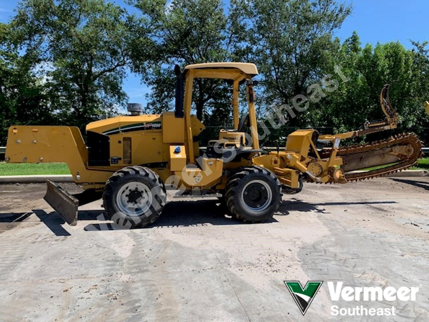 Used, 2016, VERMEER, RTX1250, Trenchers / Boring Machines / Cable Plows