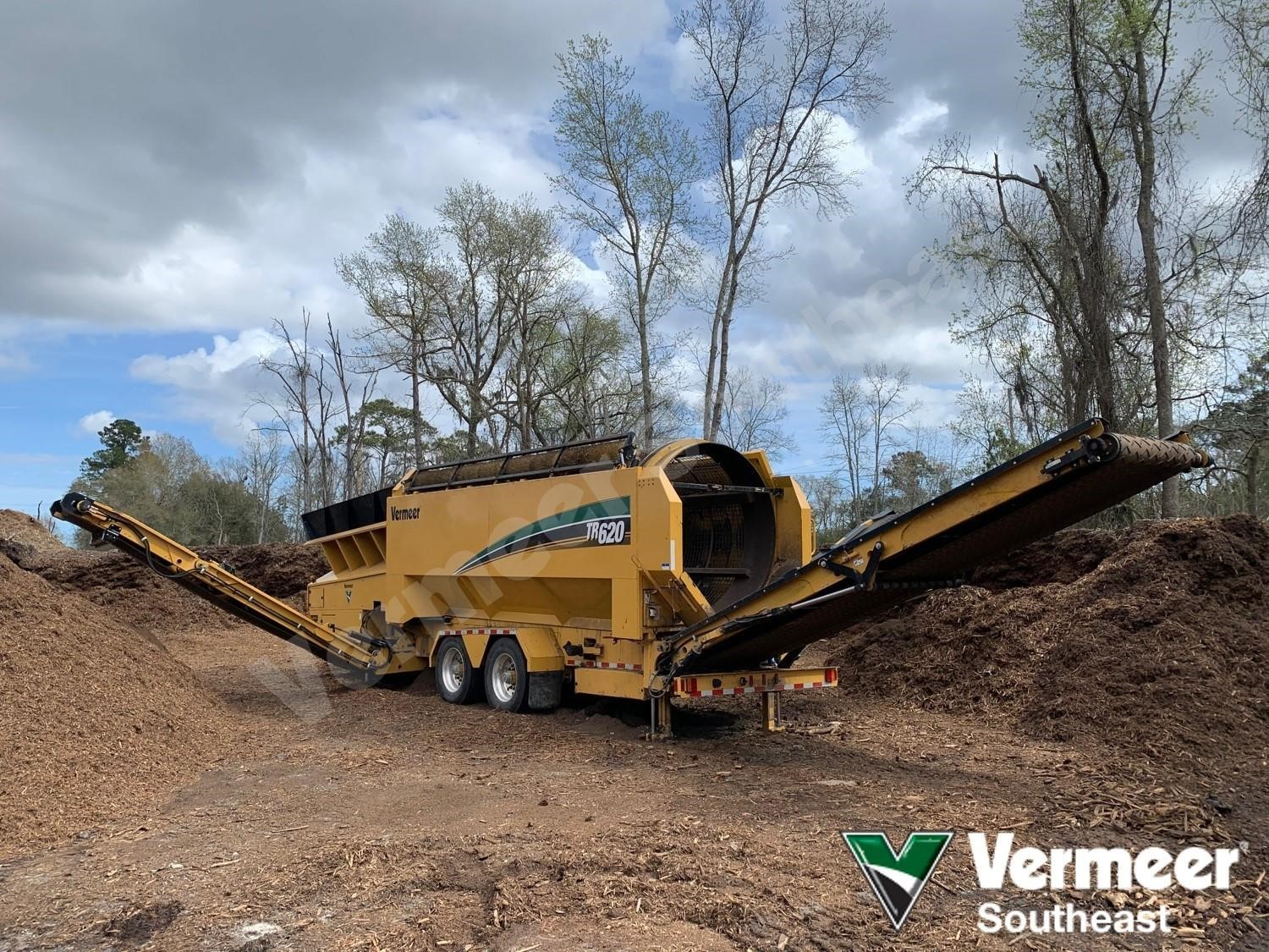 Used, 2015, VERMEER, TR620, Aggregate Equipment - Screen