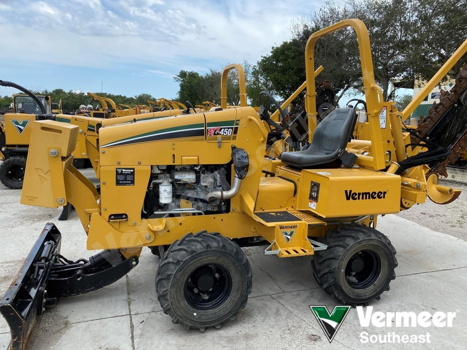 Used, 2017, VERMEER, RTX450, Trenchers / Boring Machines / Cable Plows