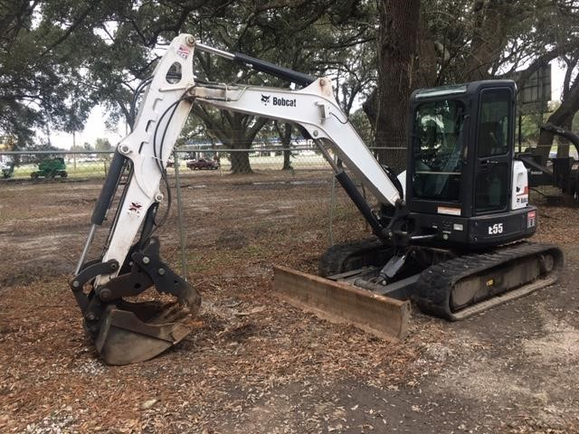 Used, 2016, BOBCAT, E55, Excavators - Crawler