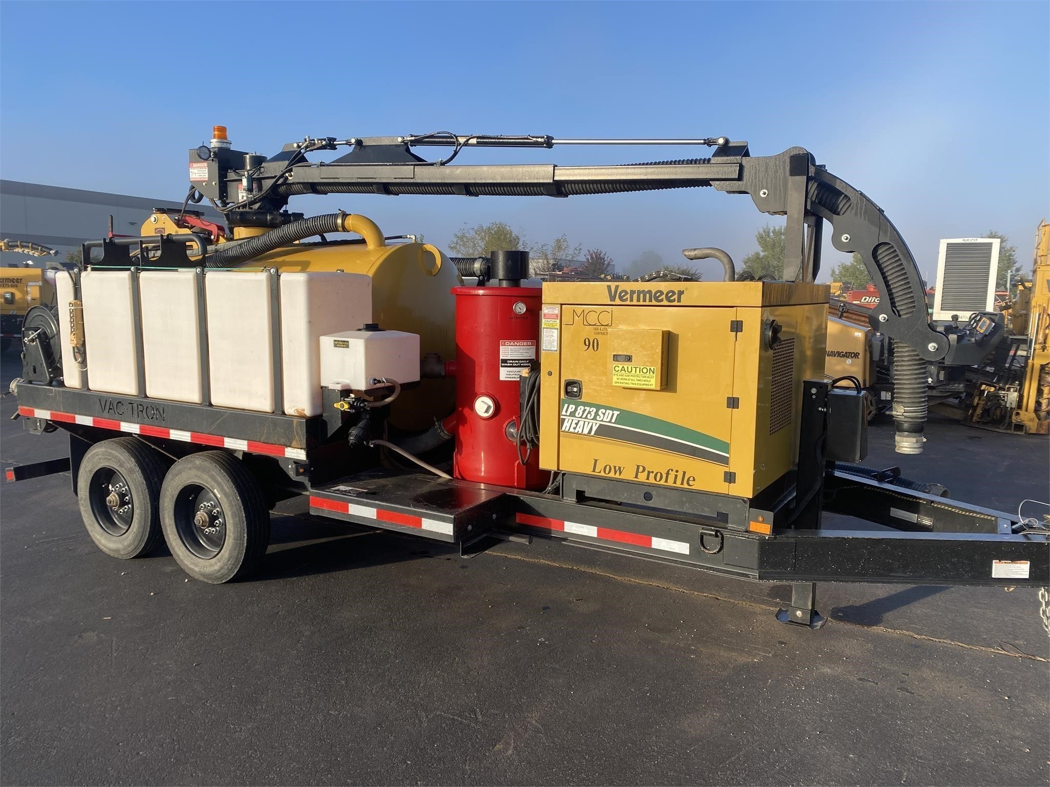 Used, 2018, VAC TRON, LP873SDTH, Vacuum Excavators