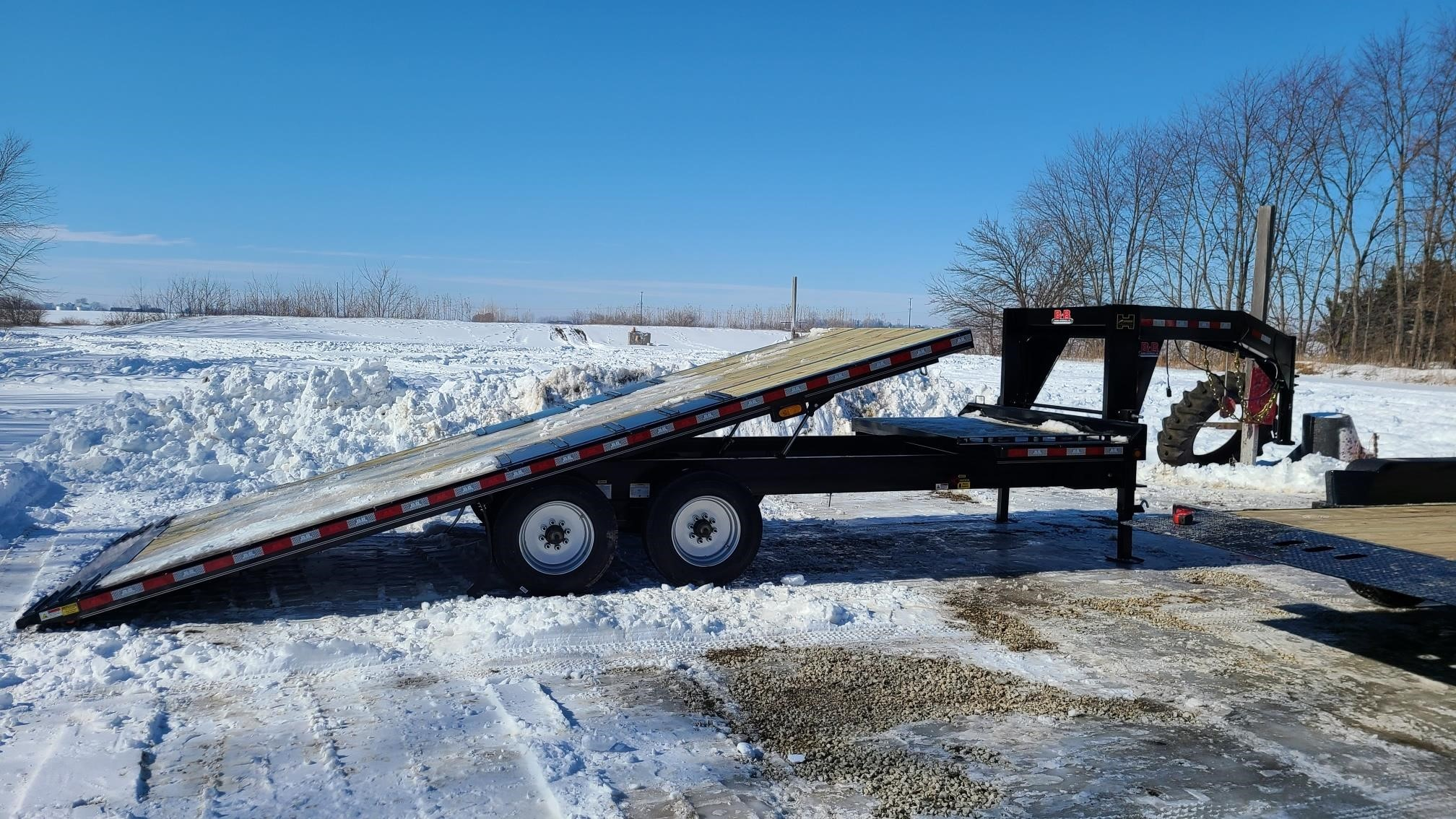 New, 2021, BEHNKE, GDFB8X22TGN-20E, Trailers - Flatbed / Tag Trailers